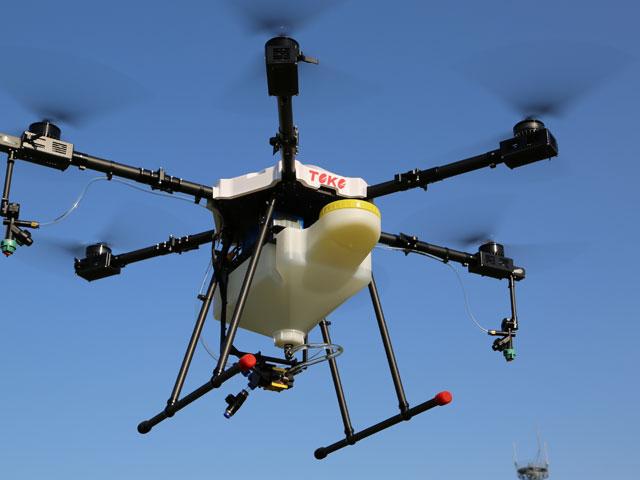 実機を用いた訓練飛行(応用飛行)